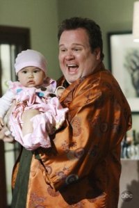 Cam Tucker and his daughter Lily from Modern Family