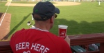 beer at baseball game