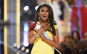 "Miss America 2013, Nina Davuluri, ""accused"" on the Twittersphere of being a Muslim"